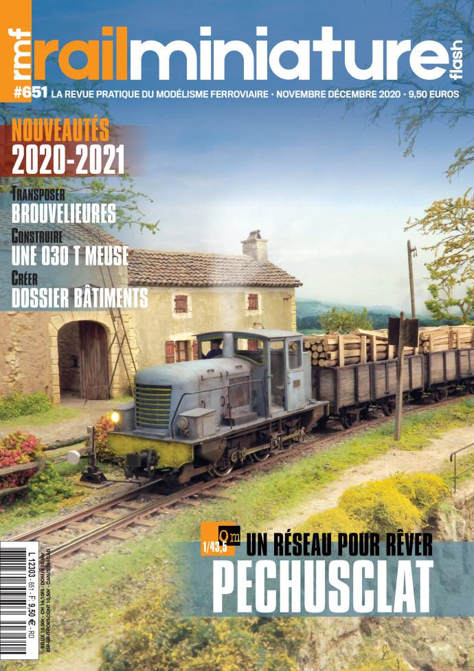 Couverture du magazine Rail Miniature Flash