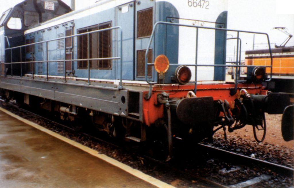 La BB 66472 en relais à Villeneuve Saint-Georges