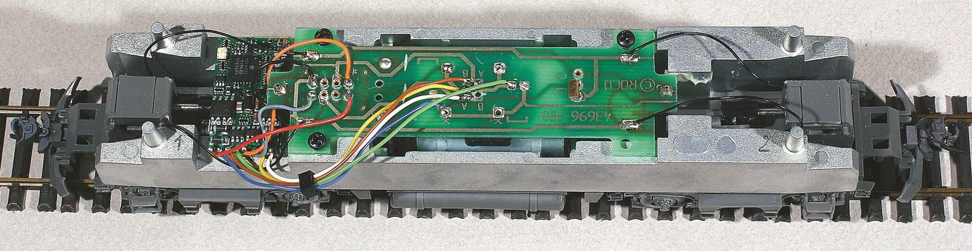 11-Montage du décodeur et utilisation du circuit imprimé comme bornier relais.