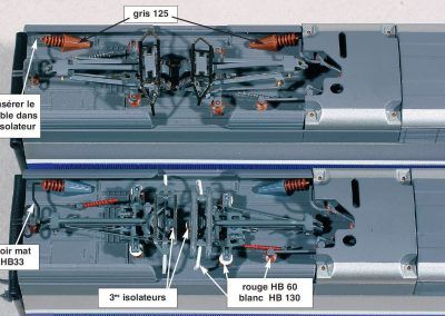 5-Comparaison des toitures de motrices avant et après modifications.