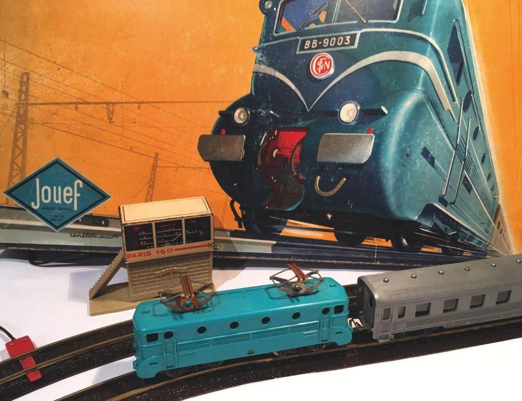 Le premier coffret de train Jouef électrique.