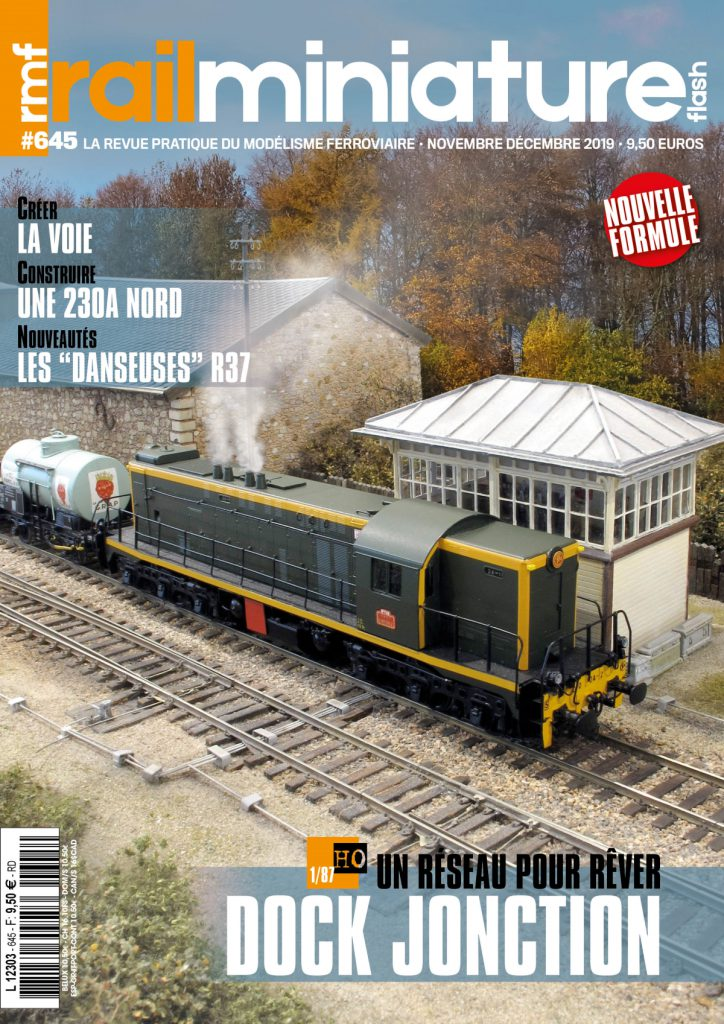 Couverture Rail Miniature Flash #645 - Novembre / décembre 2019