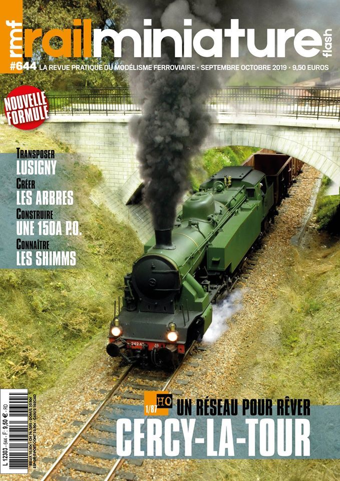 Couverture Rail Miniature Flash #644 - Septembre / Octobre 2019