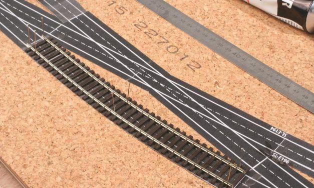 Comment bien utiliser les gabarits d'appareils de voie Rail Miniature Flash?