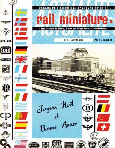 Rail Miniature Actualité 1 - Janvier 1962