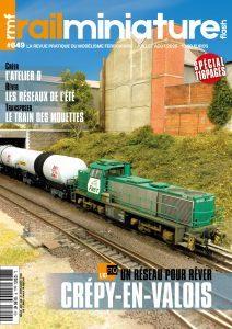 Couverture de Rail Miniature Flash 649 - Juillet / aout 2020