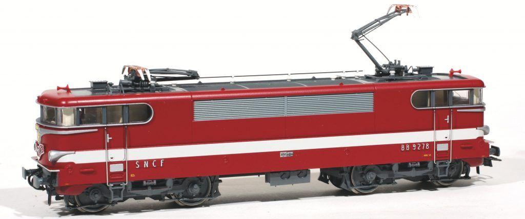 La BB 9278 Capitole de Roco : une nouvelle génération de BB MTE.