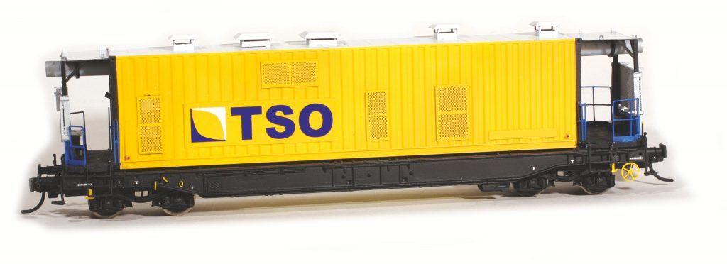 Le wagon Epurateur N°4 de TSO : une réalisation sur base Roco et Herpa avec pièces SMD.
