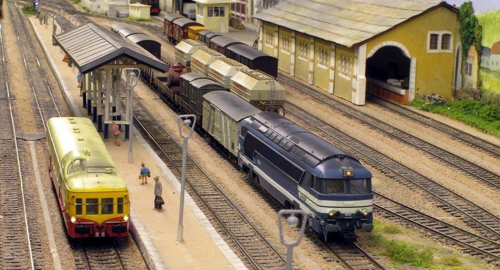 La gare de Vendôme telle qu'elle fut dans les années 60-70...