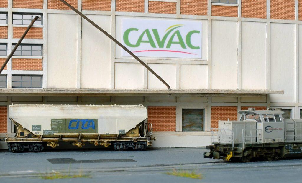 Notre G1000 ECR vient chercher un céréalier vide au silo Cavac.