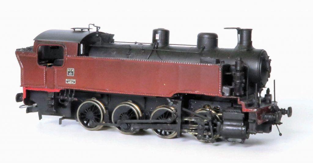 Un modèle de la 040 T Fives-Lille des C.F.S. Nord-Est
