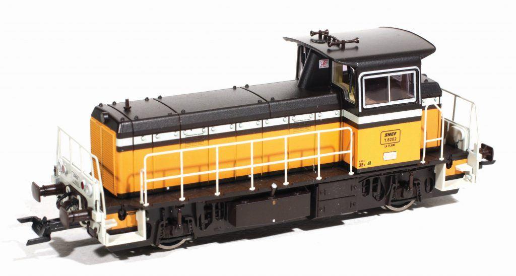 Le locotracteur Y 8202 de Roco