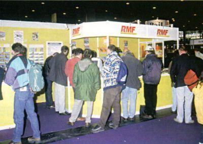 Stand RMF au Mondial de la Maquette de 2000