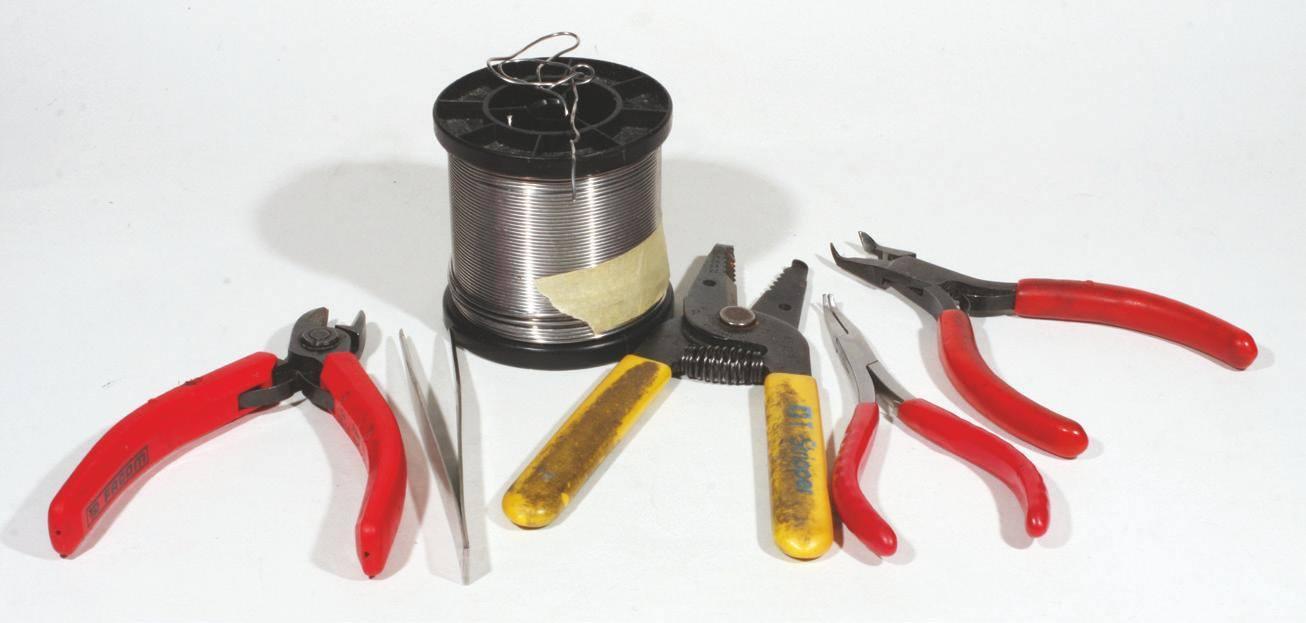 4 - Divers outils utiles pour le câblage.