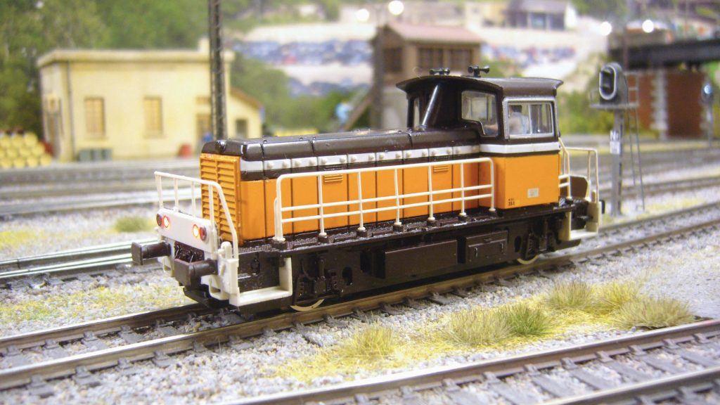 Amélioration et digitalisation d'un locotracteur Roco Y 8000