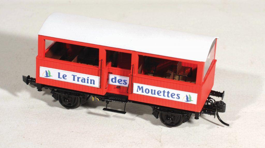 Les voitures du Train des Mouettes sur base du fourgon M EPM