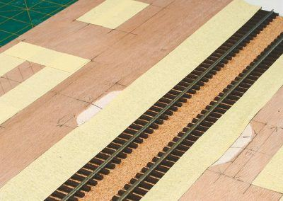 14-Les futurs emplacements des bâtiments de la gare sont également traités.