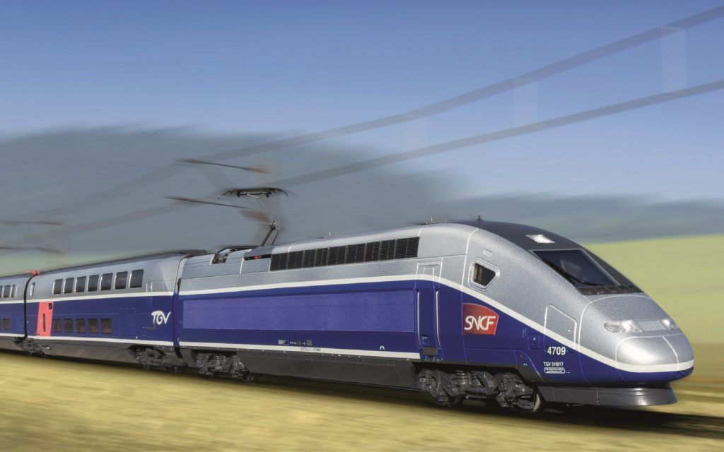 TGV Euroduplex Marklin/Trix