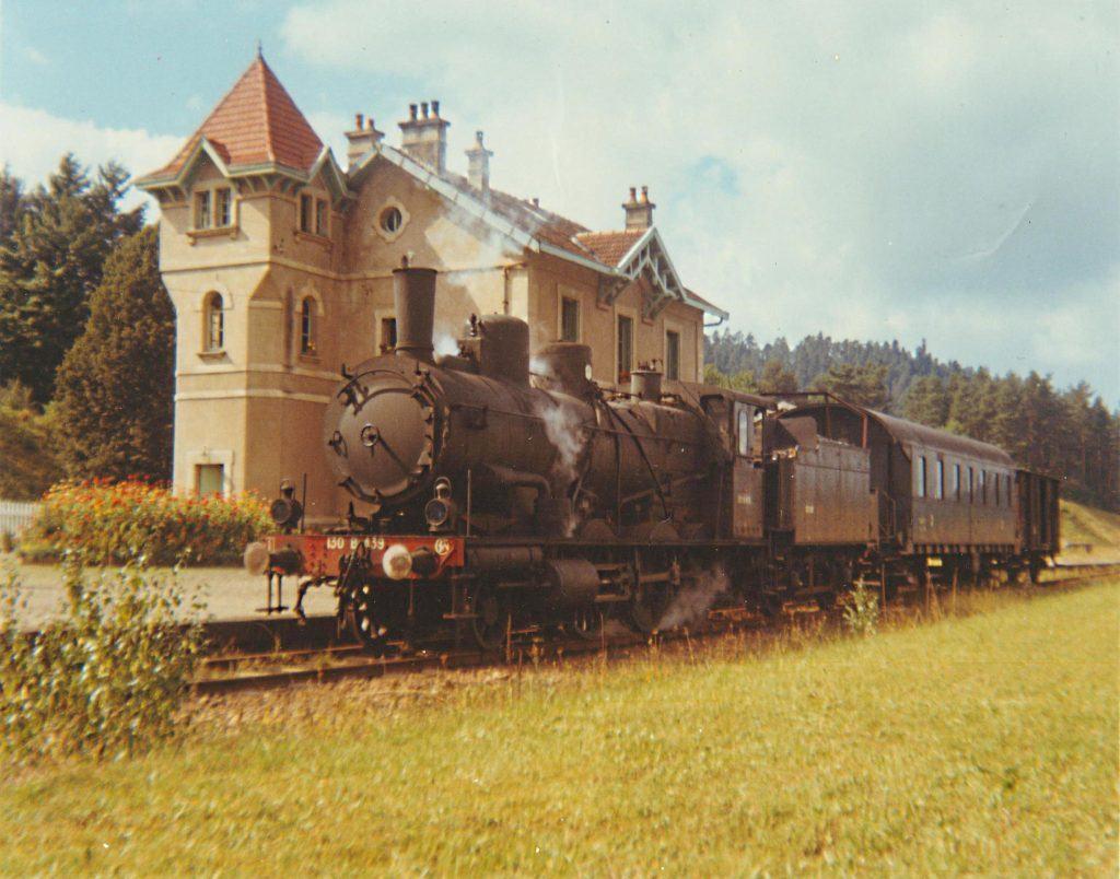 Les trains de Brouvelieures