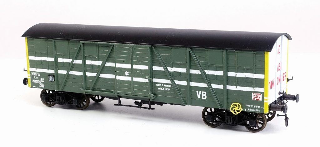 Un Wagon VB Nord sur base TP REE