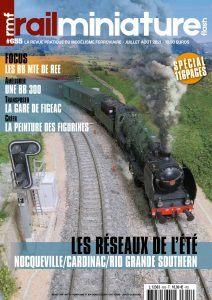 Couverture Rail Miniature Flash #655 Juillet / Aout 2021