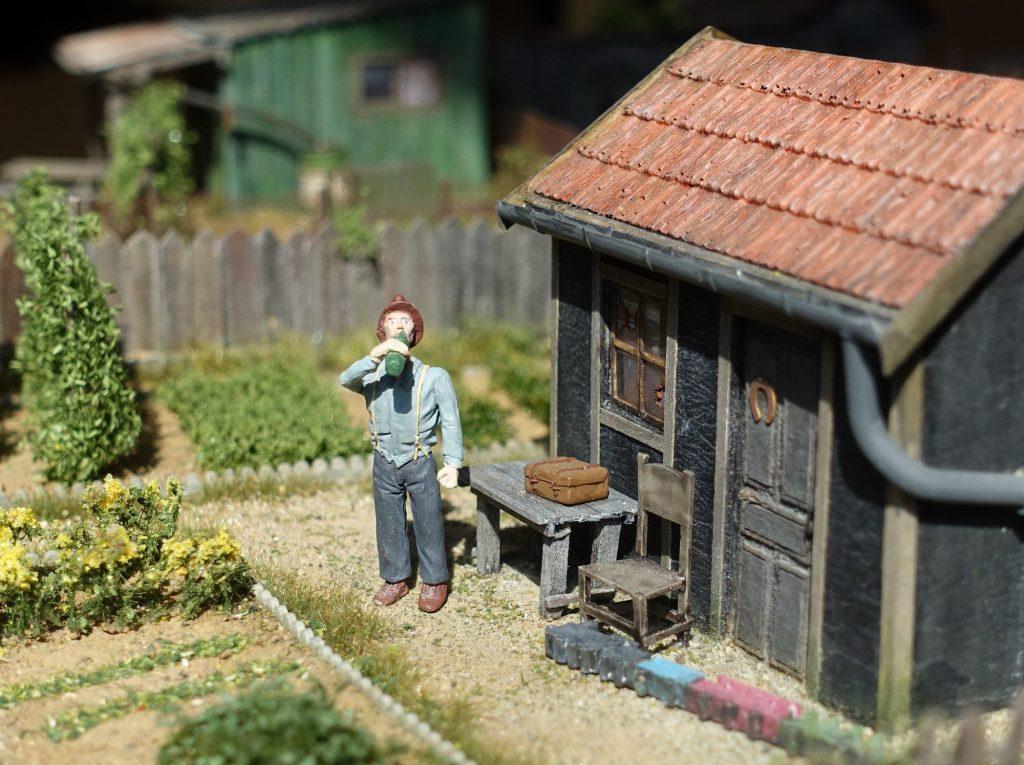 La peinture des figurines à l'acrylique : La base