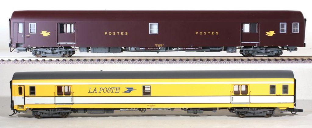Les voitures postales de 26,4m LS Models