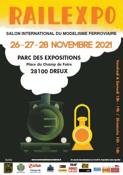 Affiche Railexpo 2021
