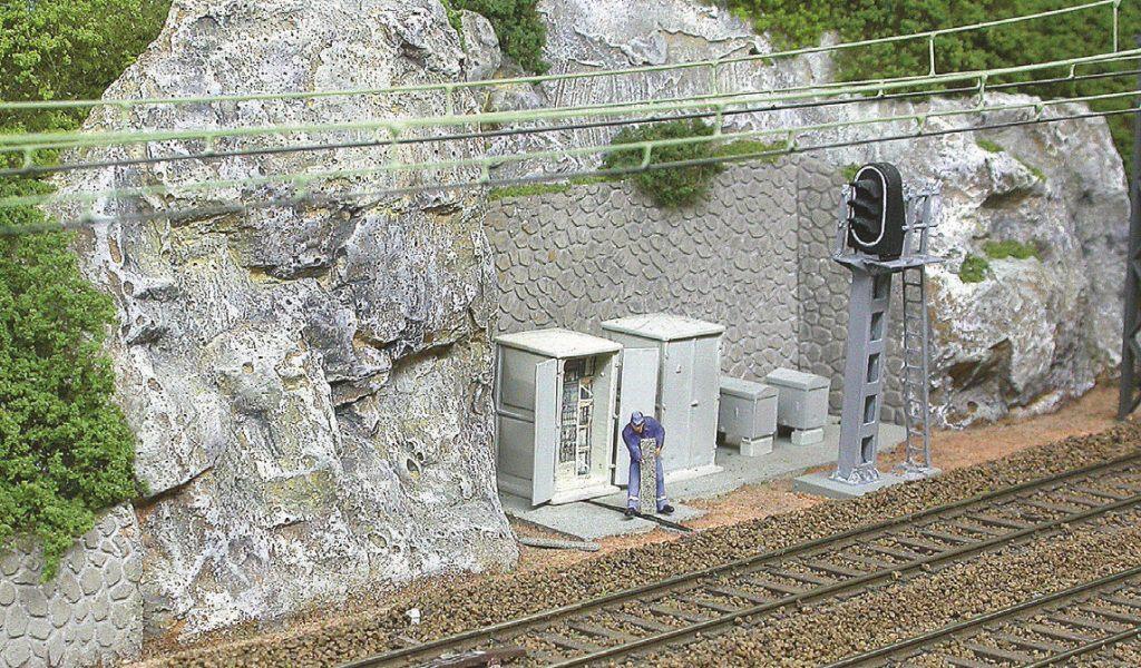 ... pas plus que celui de cette équipe du service SES (Services électriques et signalisation).