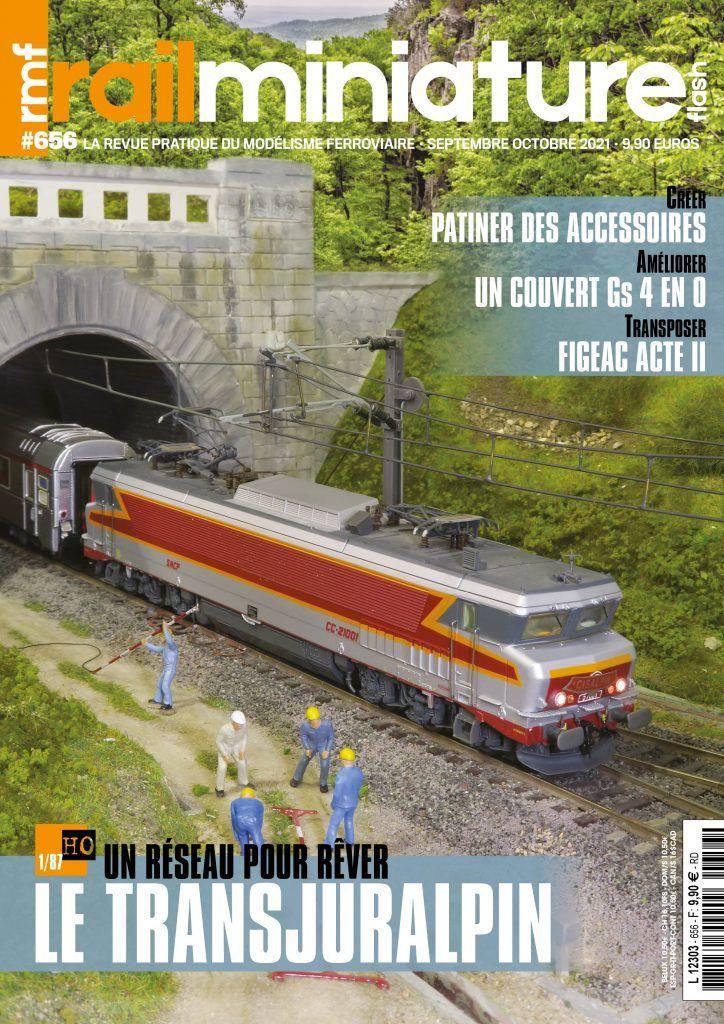 Couverture Rail Miniature Flash #656 - Septembre / octobre 2021