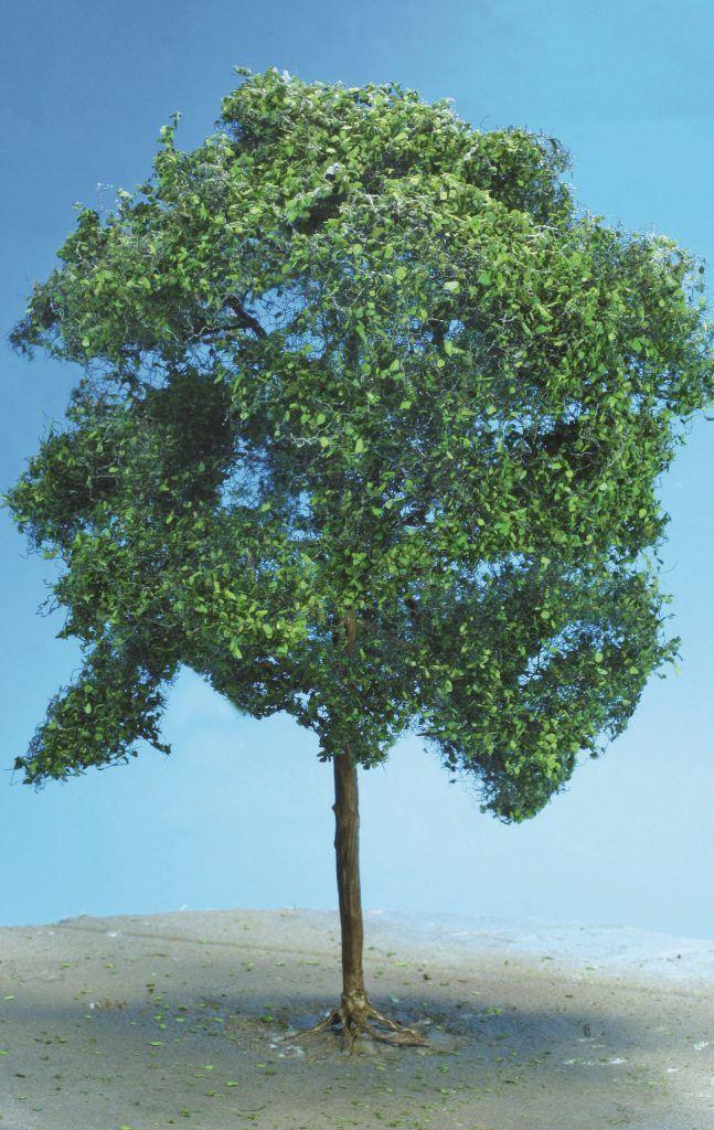 22 – L'arbre finalisé, il manque encore une petite patine sur le tronc et les grosses branches.