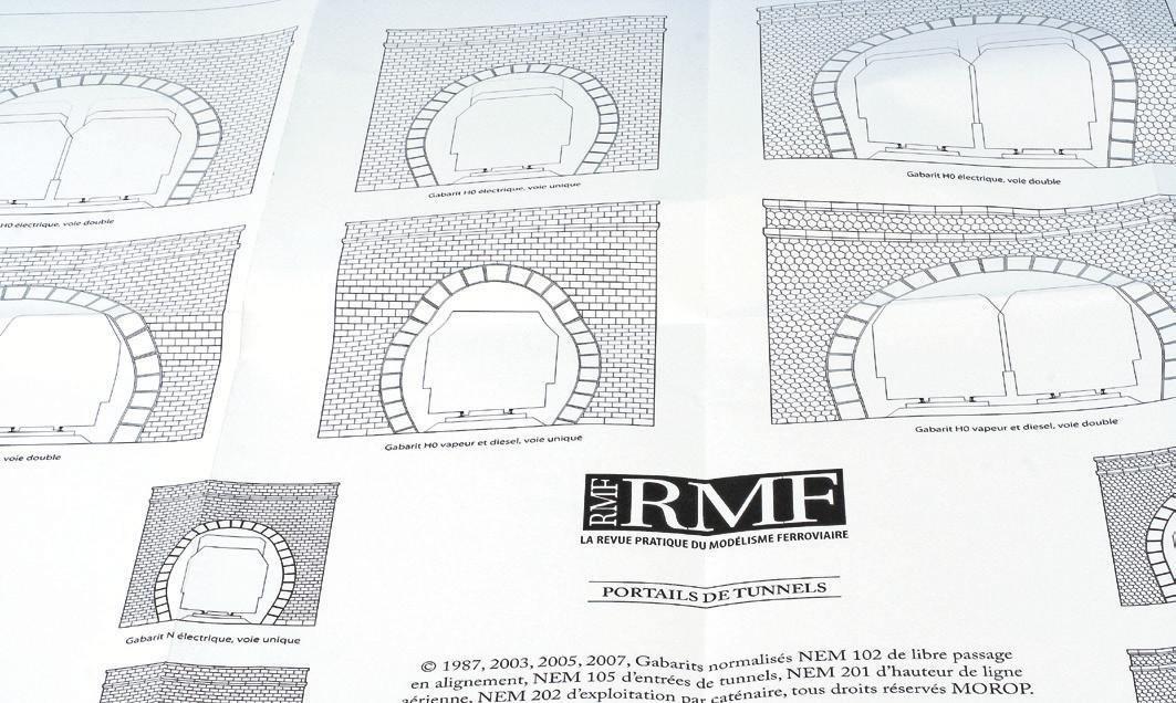 2-La planche 16 pages à télécharger, côté portails de tunnels